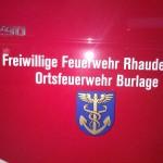 Burlage hat es..das neue Feuerwehrauto :)