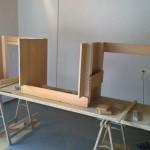 Arbeits / Studiotisch im Eigenbau