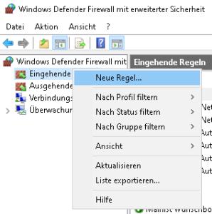 Mairlist Firewall