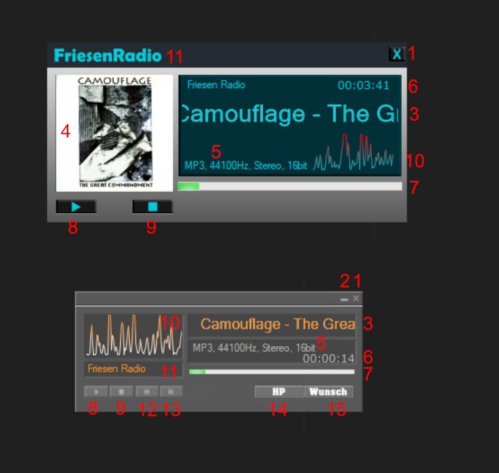 RadioPlayer für Internetradio